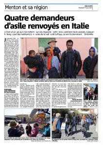 Quatre demandeurs d asile renvoyés en Italie-page-001