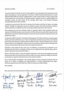 lettre 5 maires